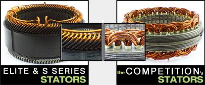 Stators Comparison
